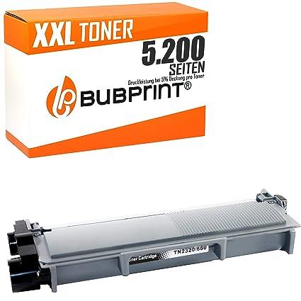Bubprint Tóner XL 5.200 Páginas Compatible con Brother TN ...