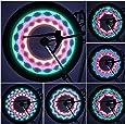 OUTAD Wasserdicht 30-LED Fahrrad Felge Lichter für MTB Rad Gummireifen