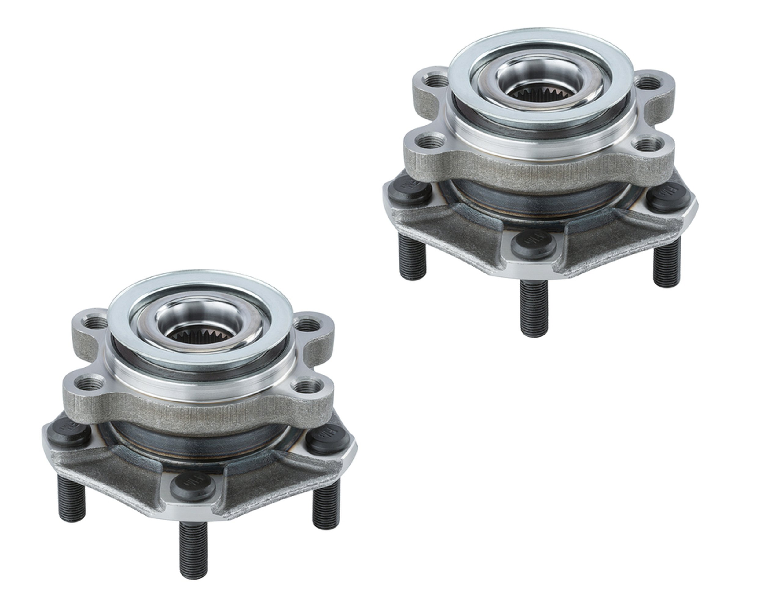 DTA Front Wheel Bearing & Hub Full Assemblies NT513364 x2 Brand New (2pcs) Fits Chevrolet City Express, Nissan Leaf, NV200, Sentra by DRIVE TECH AMERICA