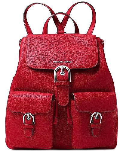5cb4589af Amazon.com: MICHAEL Michael Kors Cooper Large Flap Backpack: Shoes