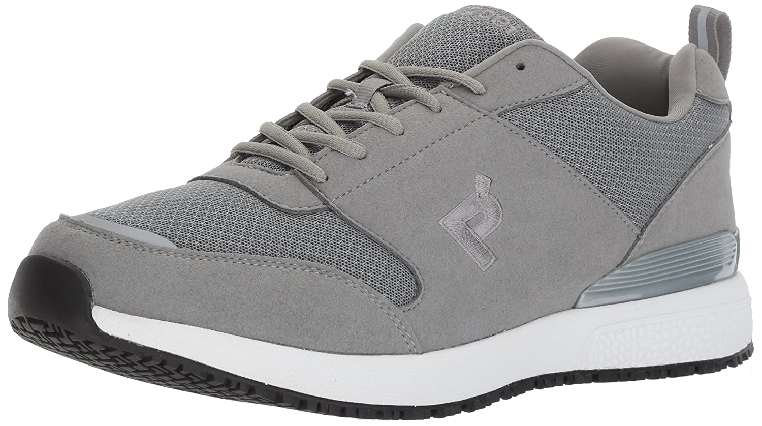 Propét Men's Simpson Work Shoe 11.5 5E US|Grey