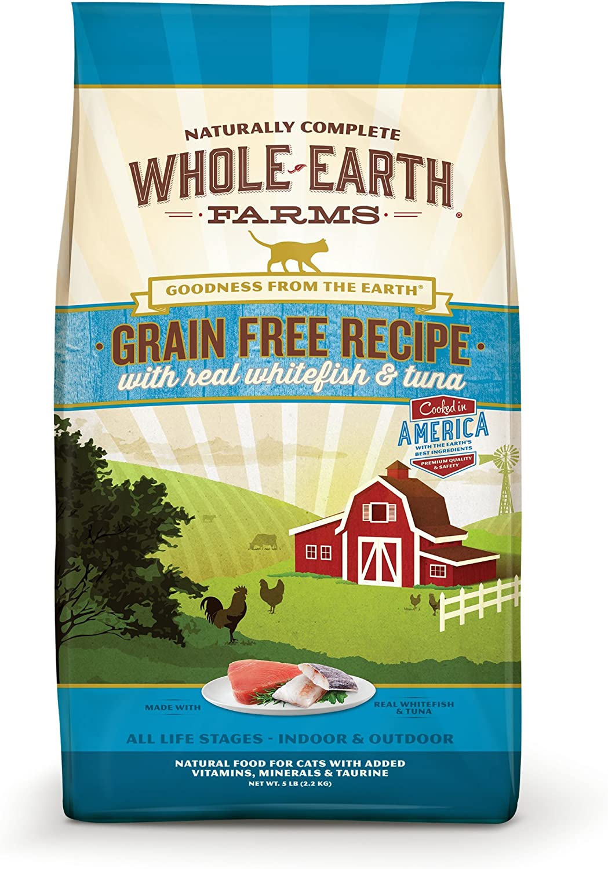 Whole Earth Farms Grain Free Recipe Dry for Cat