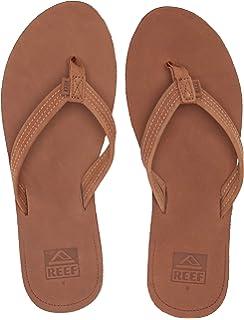 beste verkoop verschillende ontwerpen stopcontact Amazon.com | Reef Women's Chill Leather Sandal, Tan, 5 M US ...