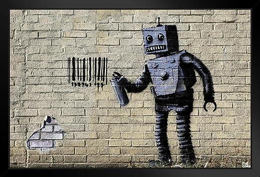 A0  canvas steet art graffiti print urban  usa new york bronx painting stencil