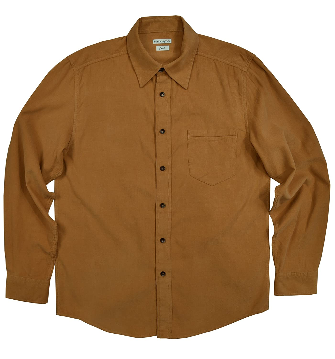 a92648b7 Himosyber Men's Lightweight Corduroy Shirt at Amazon Men's Clothing store: