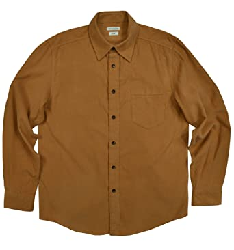 e9298061e7 Himosyber Men's Lightweight Corduroy Shirt at Amazon Men's Clothing ...