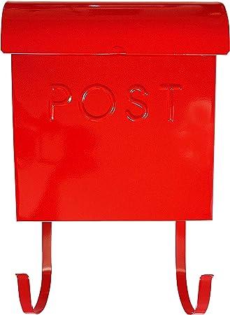 Newspaper Mailbox Steel City Corp Rustproof Black Paper Safe Hanging USA New