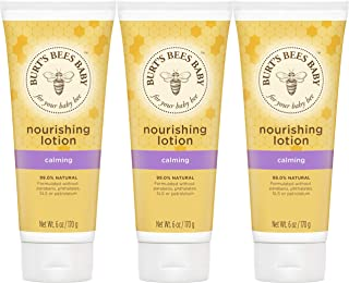 product image for Burt's Bees Baby Nourishing Lotion, Calming Baby Lotion - 6 Ounce Tube - Pack of 3