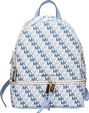 حقيبة ظهر مايكل كورس للنساء، ابيض اوبتك - 30S9GEZB2B