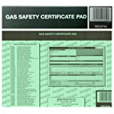 Regin Landlord & Home Owner Gas Appliance Safety Certificate Pad REGP46