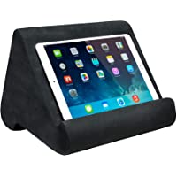 Ontel Pillow Pad Ultra Multi-Angle Soft Tablet Stand, Gray