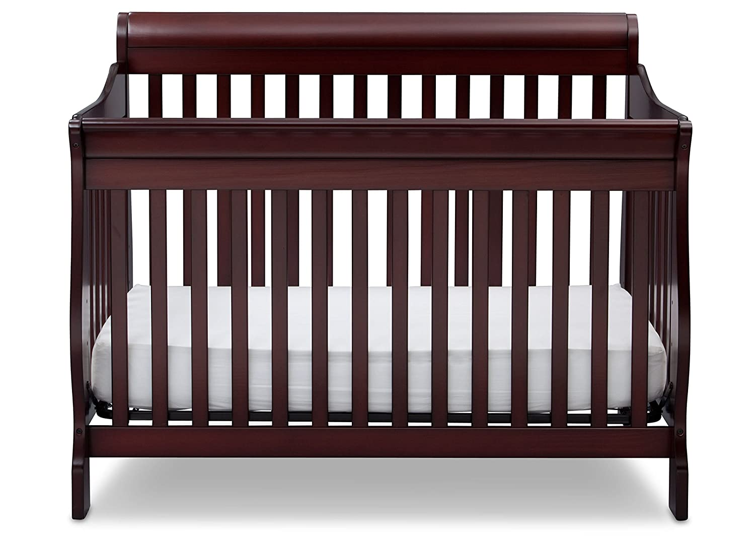 Charming Amazon.com : Delta Children Canton 4 In 1 Convertible Crib, Espresso Cherry  : Baby
