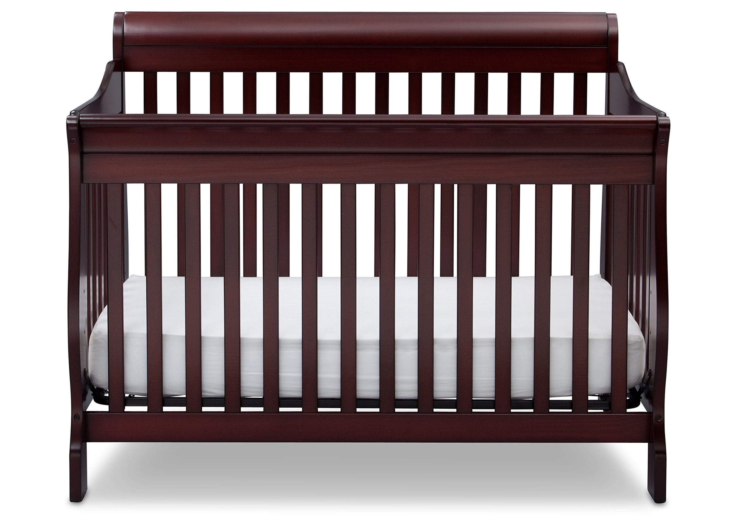 Delta Children Canton 4-in-1 Convertible Crib, Espresso Cherry by Delta Children (Image #4)