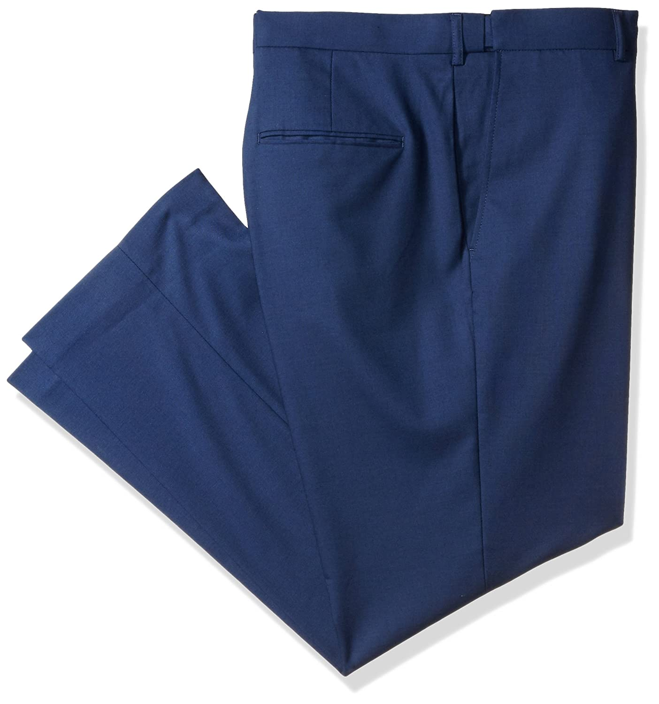 Alexander Julian Colours Men's Big & Tall Flat Front Suit Dress Pant W/Adjustable Waist Alexander Julian Child Code