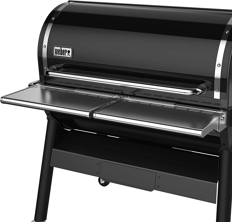 Weber 7003 SmokeFire EX6 Folding Front Shelf, Silver