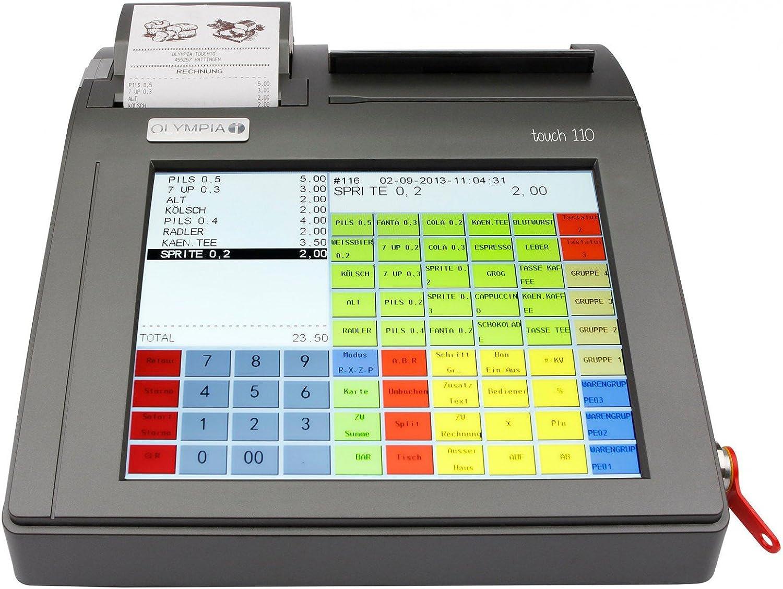 Olympia Touch 110 - Caja registradora de pantallas táctiles: Amazon.es: Oficina y papelería