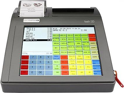 Olympia Touch 110 - Caja registradora de pantallas táctiles ...