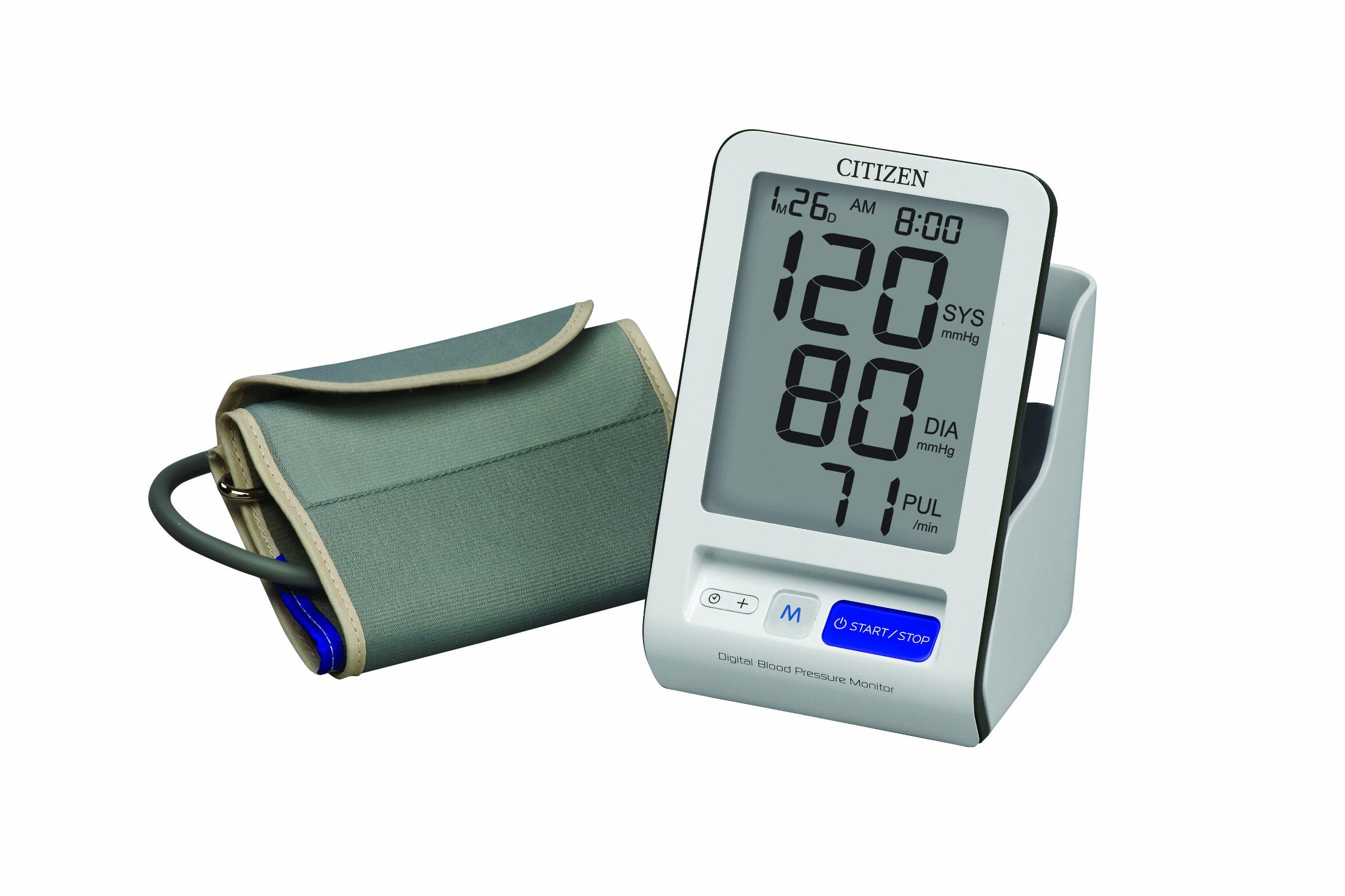 Citizen CH-456 Self-Storing Arm Digital Blood Pressure Monitor