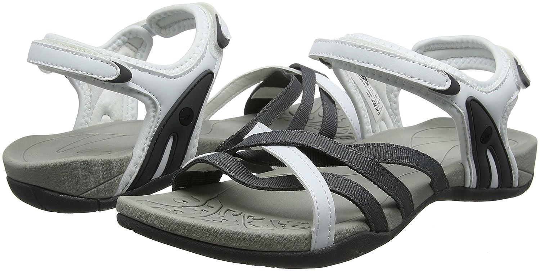 Hi-Tec Savanna II, Sandali da Arrampicata Donna, Bianco (White/Grey), 37 EU