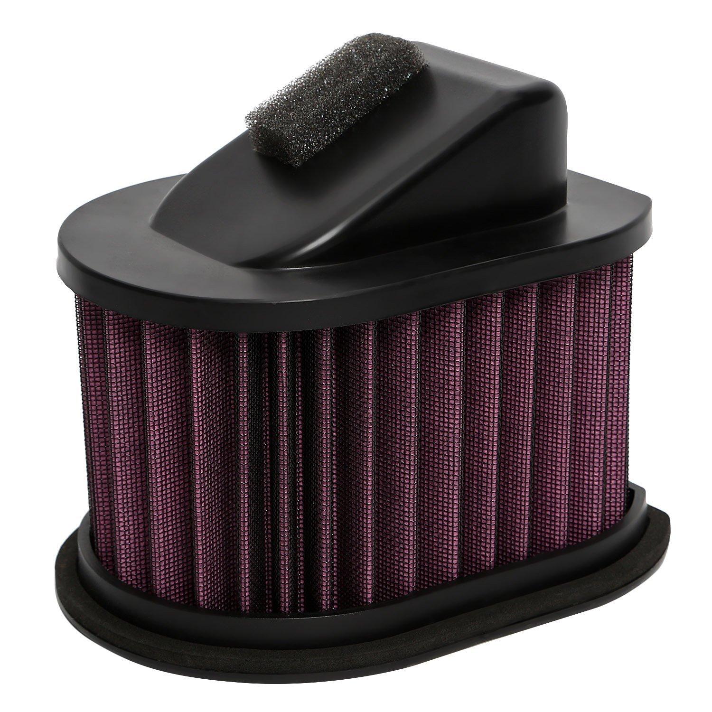 S CICMOD Gut Performance Durchfluss Einzigartiger Luftfilter f/ür Kawasaki Z800 ZR800 ZR750 Z750 R ABS ZR1000 Z1000 Waschbar Wiederverwendbar