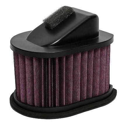 cicmod alto rendimiento flujo Panel Filtro de aire para Kawasaki Ninja 250 300 Z250 ex250r EX300 ex300b/un ex250e 2008 – 2015 lavable reutilizable