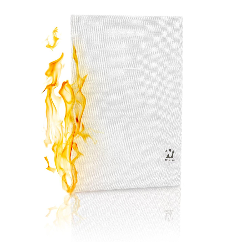 14. WINTEX Feuerfeste und Wasserresistente Dokumententasche | DIN A4 | aus hochwertigem Fiberglas