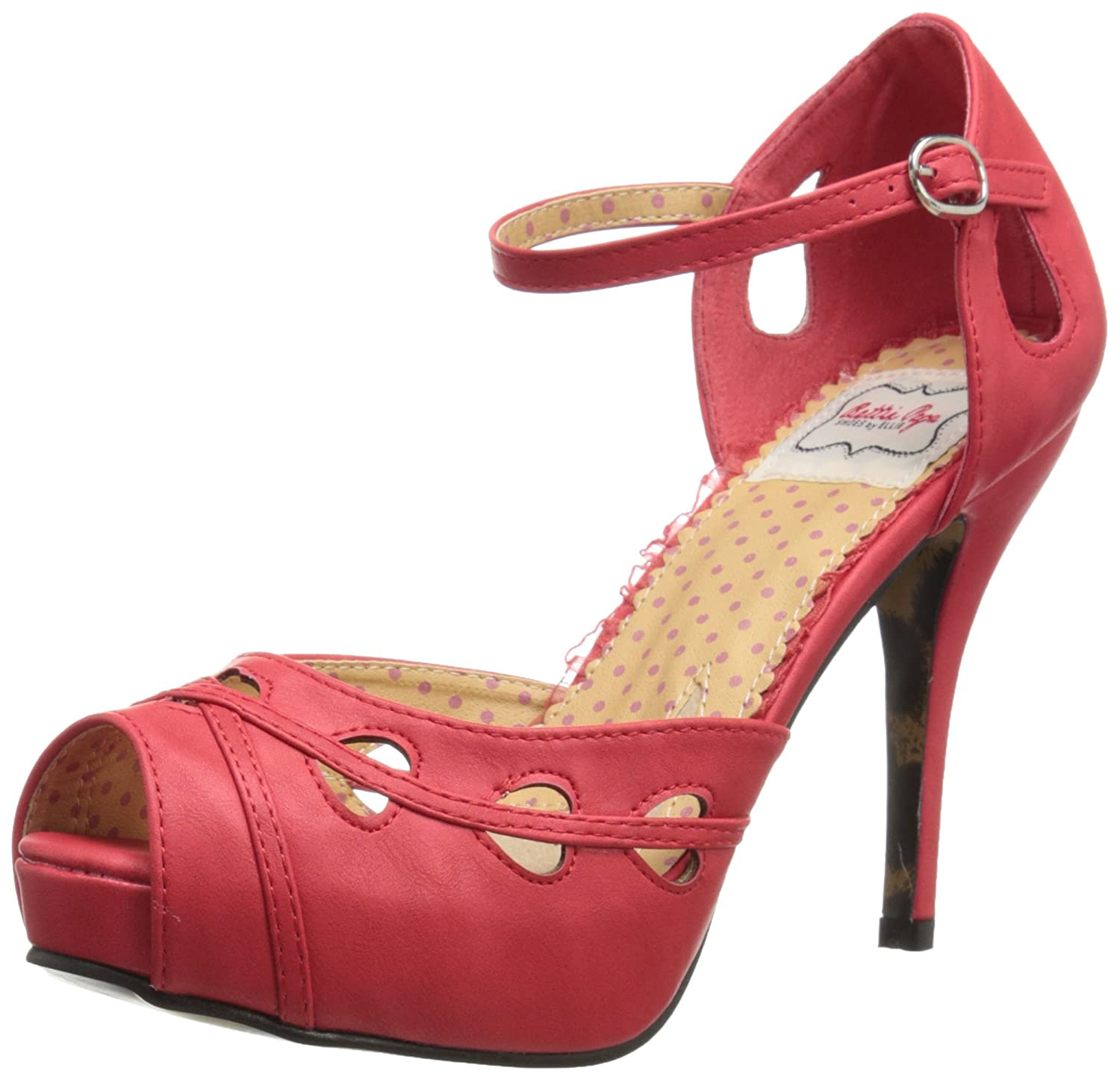 Bettie Page Womens BP410-Dawn Dress Sandal  AT vintagedancer.com