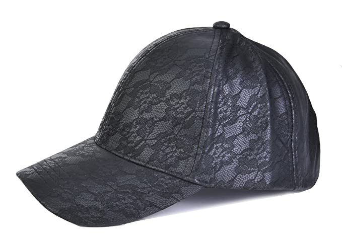 TOP HEADWEAR Floral Lace Baseball Cap - Black at Amazon Women s ... 2476fe0c93a