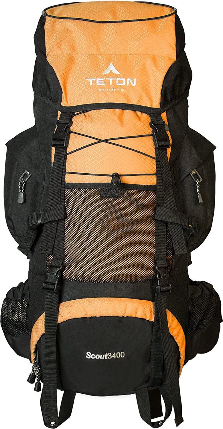 Teton Sports Scout Internal Frame Backpacking Backpack}