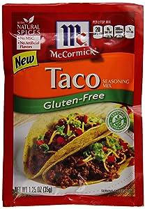 McCormick Gluten-Free Taco, 1.25 Ounce