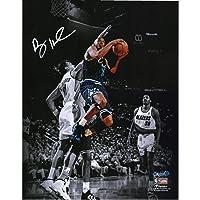 "$139 » Penny Hardaway Orlando Magic Autographed 11"" x 14"" Lay Up Spotlight Photograph - Autographed NBA Photos"