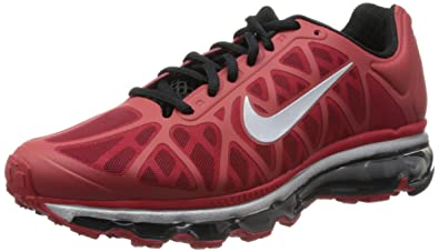 Nike Air Max 2011 Sport Red Silver Mens Running Shoes QS 429889-600  US d677f786a