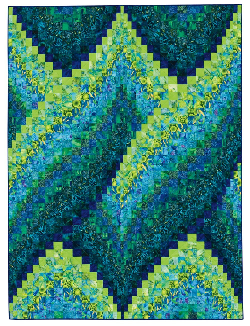 Twisted Bargello Quilt Pattern Free Amazing Inspiration Design