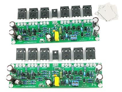 Amazon com: L15 2-channels Stereo Audio power amplifier board DIY