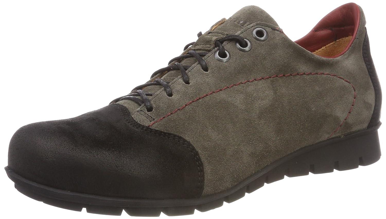 Think! Menscha_383073, Zapatos de Cordones Derby para Mujer 39 EU|Gris (21 Vulcano/Kombi)