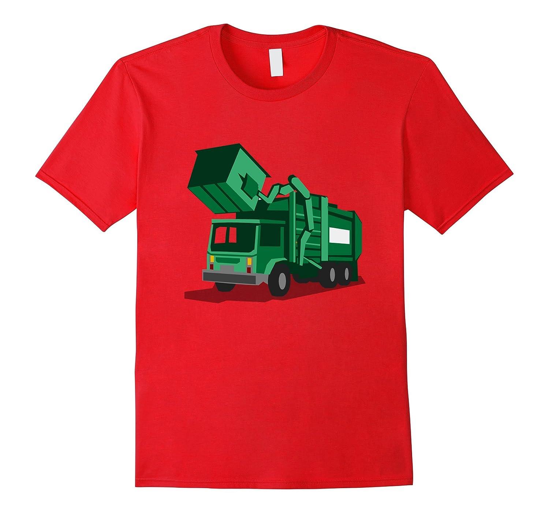 Kids City Trash Truck  Garbage Truck T-Shirt-CD