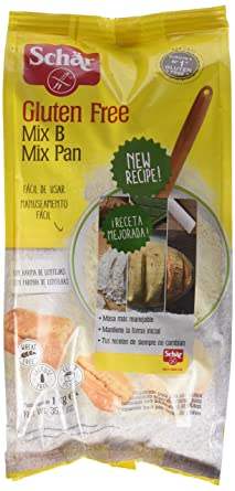 Dr. Schar Mix B Harina sin Gluten - 1000 gr - [Pack de 5]: Amazon ...
