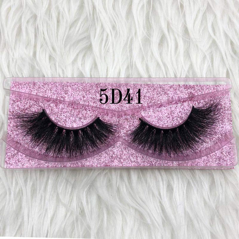 a32ed82bad9 Amazon.com: 25mm Long 5D mink lashes long lasting mink eyelashes Big  dramatic volumn eyelashes strip individual 3d false  eyelash,C,0.15mm,5D45,Other: Beauty