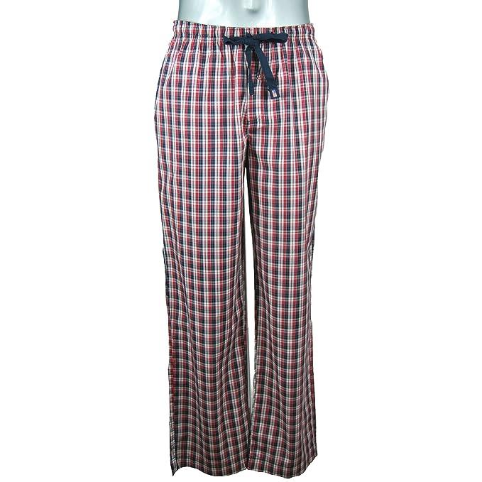 Jockey - Pantalón de pijama - Cuadrados - para hombre azul marino Large