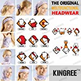 KINGREE 9PCS Headbands, Outdoor Multifunctional