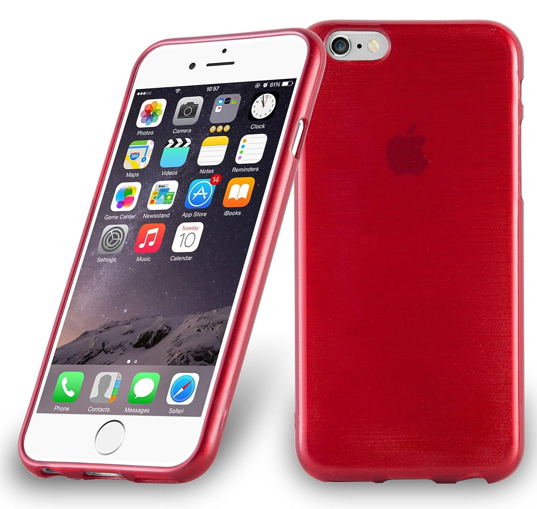 coque iphone 6 mat rouge