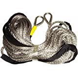 "3/8"" Customized length synthetic winch rope extension high strength min.18600lb for 11000LB winch or less"