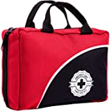 First Aid Kit - 160 Piece - for Car, Travel, Camping, Home, Office, Sports, Survival | Complete Emergency Bag Fully…