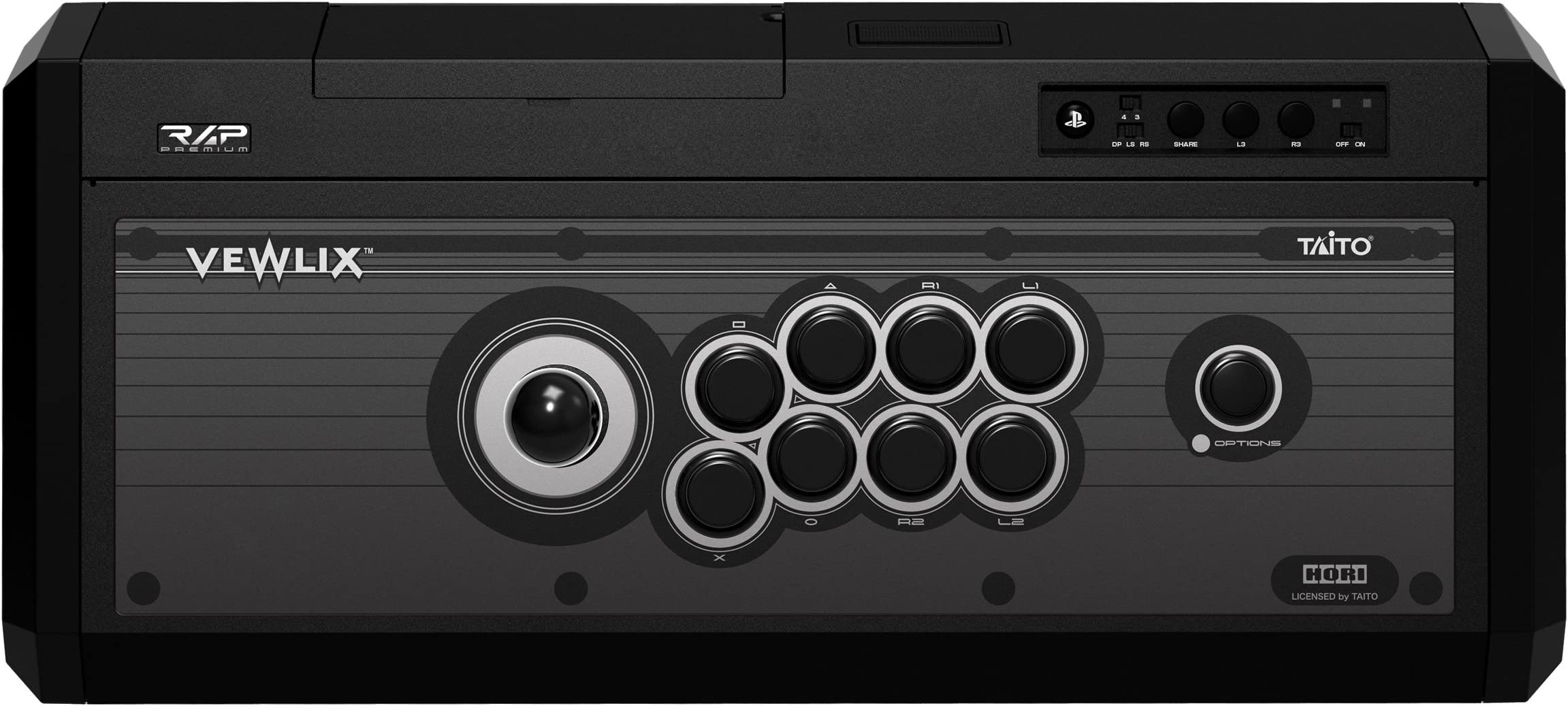 81H2xxxY9TL._AC_ amazon com hori real arcade pro 4 premium vlx kuro fighting stick Hori Gaming at virtualis.co