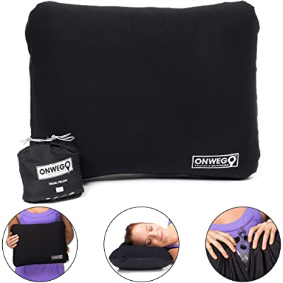 ONWEGO Camping Pillow/Inflatable Travel Pillow/Backpacking Pillow/Best Inflatable Pillow