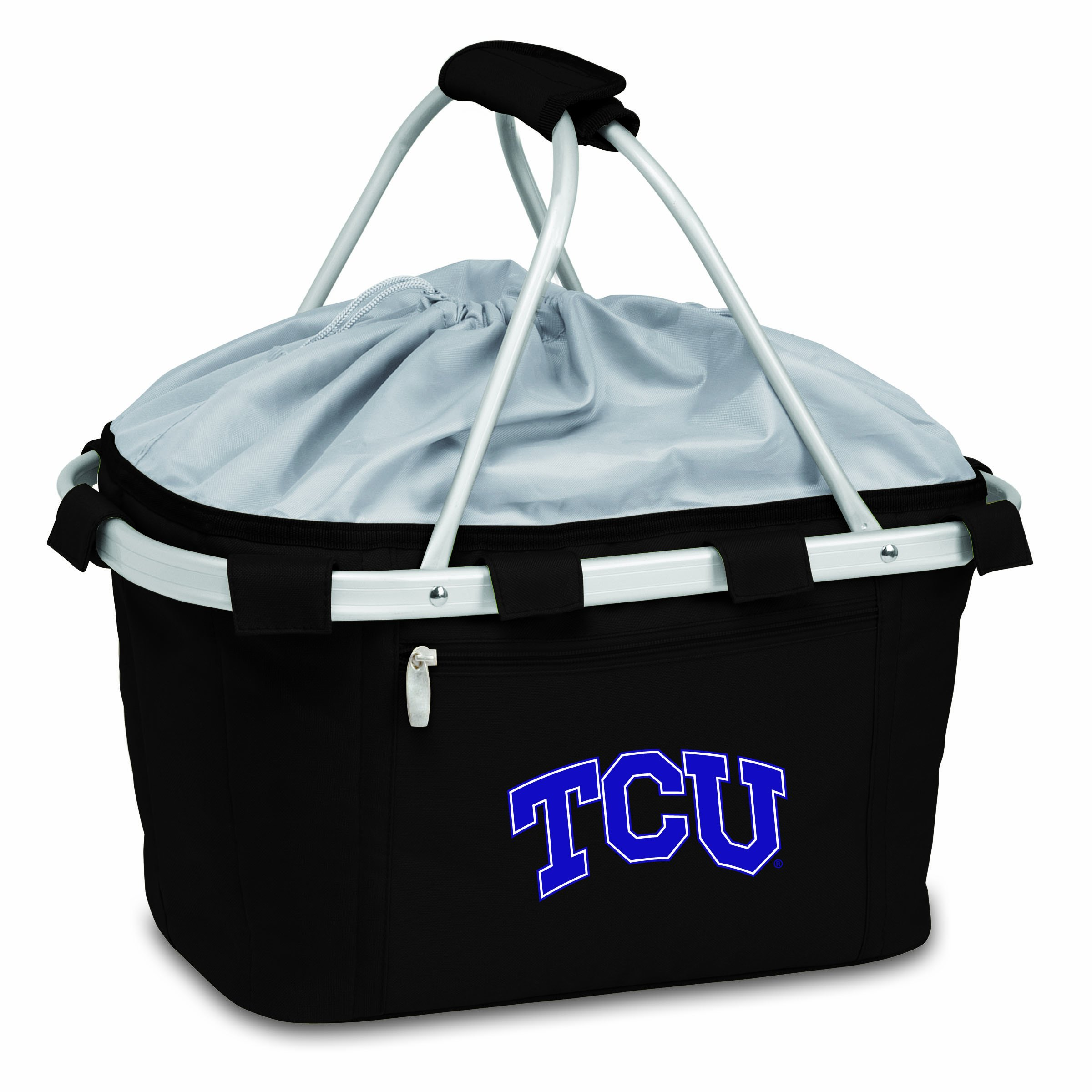 PICNIC TIME NCAA Texas Christian Horned Frogs Metro Insulated Basket