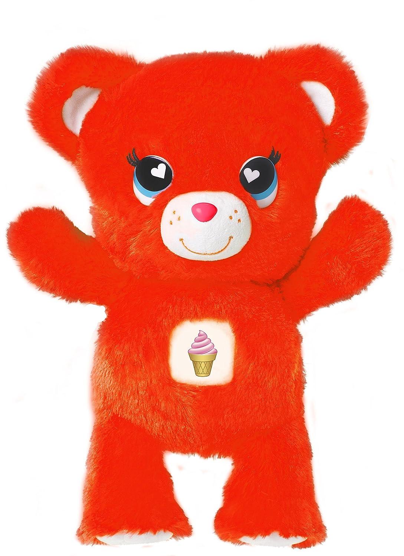 amazon com emoji bears plush purple 7 toys games