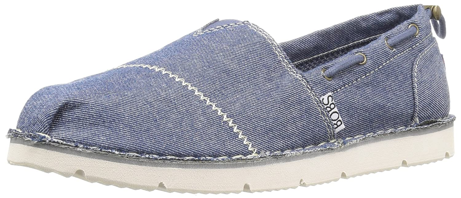 Skechers BOBS from Women's Chill Luxe Flat B01J4IU0ZS 8.5 B(M) US|Navy Groove