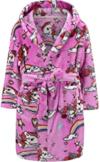 PUG Childrens Soft Dressing Gown Robe Age 2-13 Toddler Boys Girls House Coat
