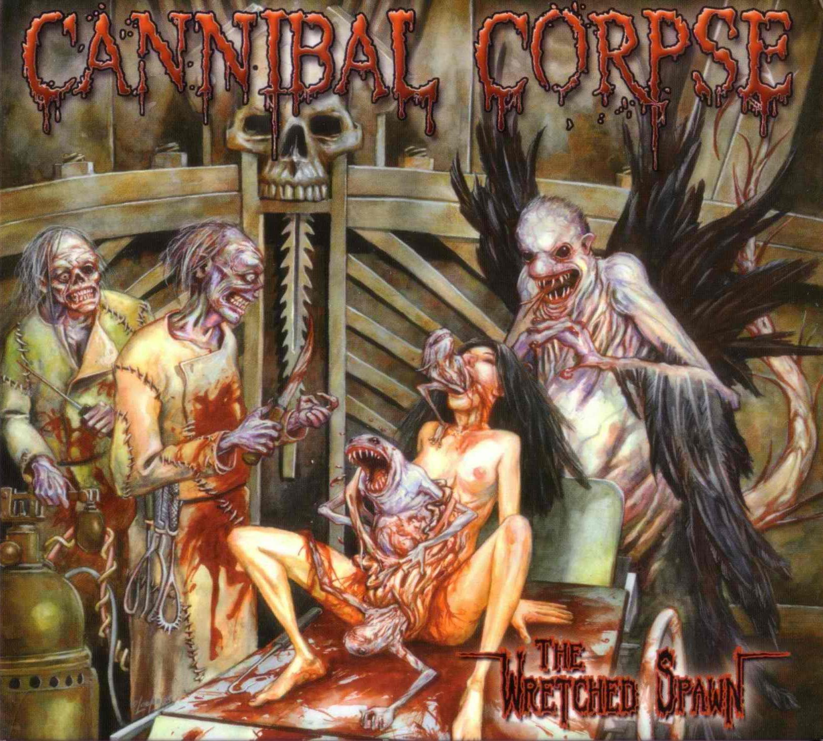 CD : Cannibal Corpse - Wretched Spawn (With DVD, Clean Version, 2PC)
